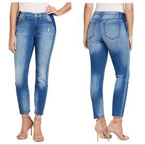 Nine West Gramercy Skinny Ankle Jeans, 6